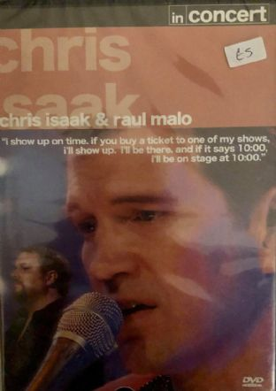 Chris Isaak & Raul Malo - In Concert (DVD)